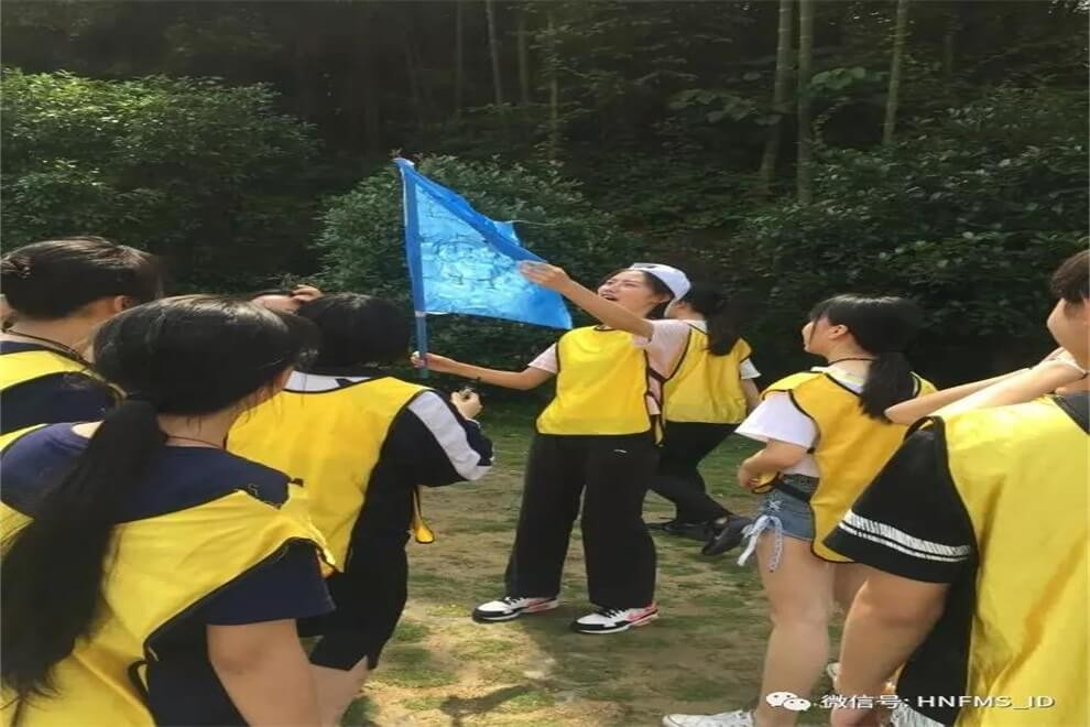 湖南省长沙市第一中学国际部户外素质拓展活动图集