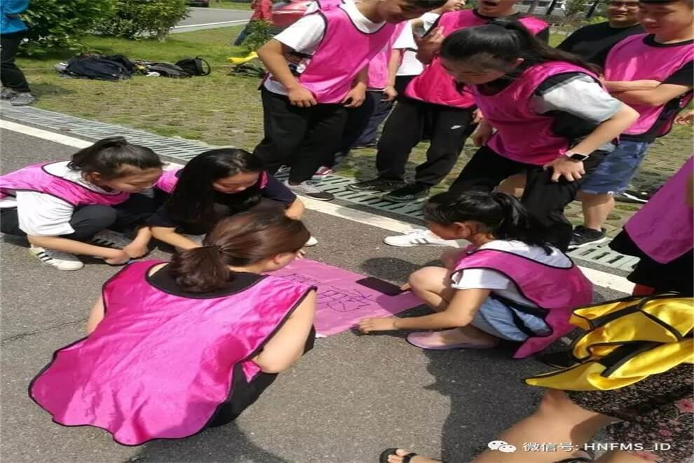 湖南省长沙市第一中学国际部户外素质拓展活动图集02