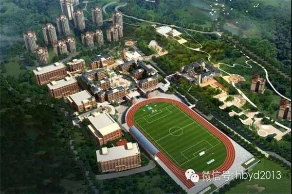 宜昌龙盘湖国际学校风景图集