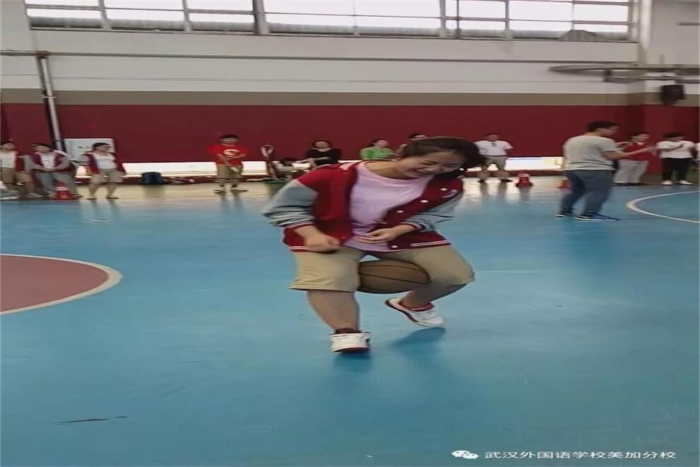 武汉外国语学校美加分校篮球嘉年华运动会图集