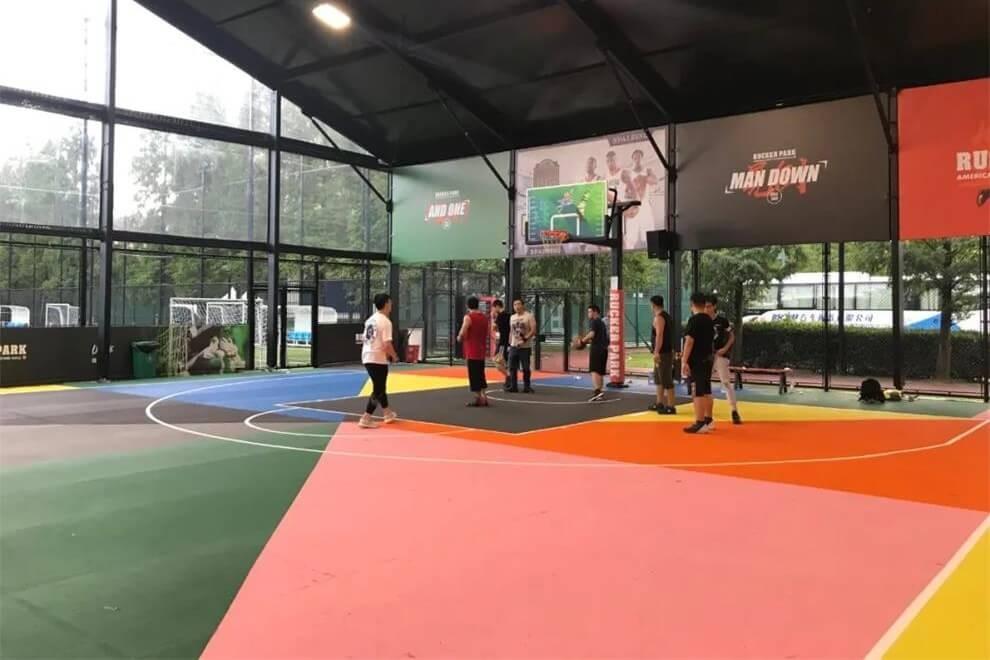 上海光华启迪国际教育学校篮球馆图集