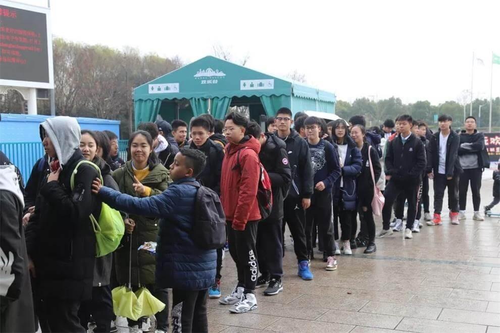 上海北美学校冬游活动图集