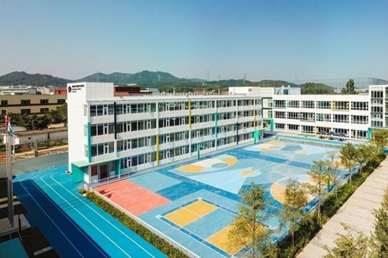 深圳诺德安达双语学校校园风景图集