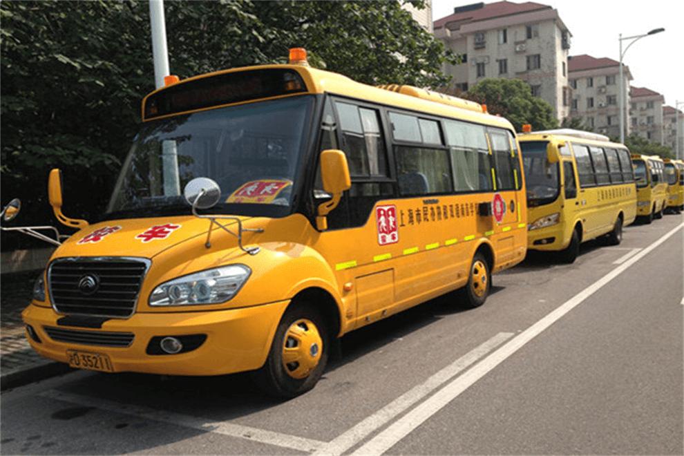 上海市民办协和双语尚音学校校车图集