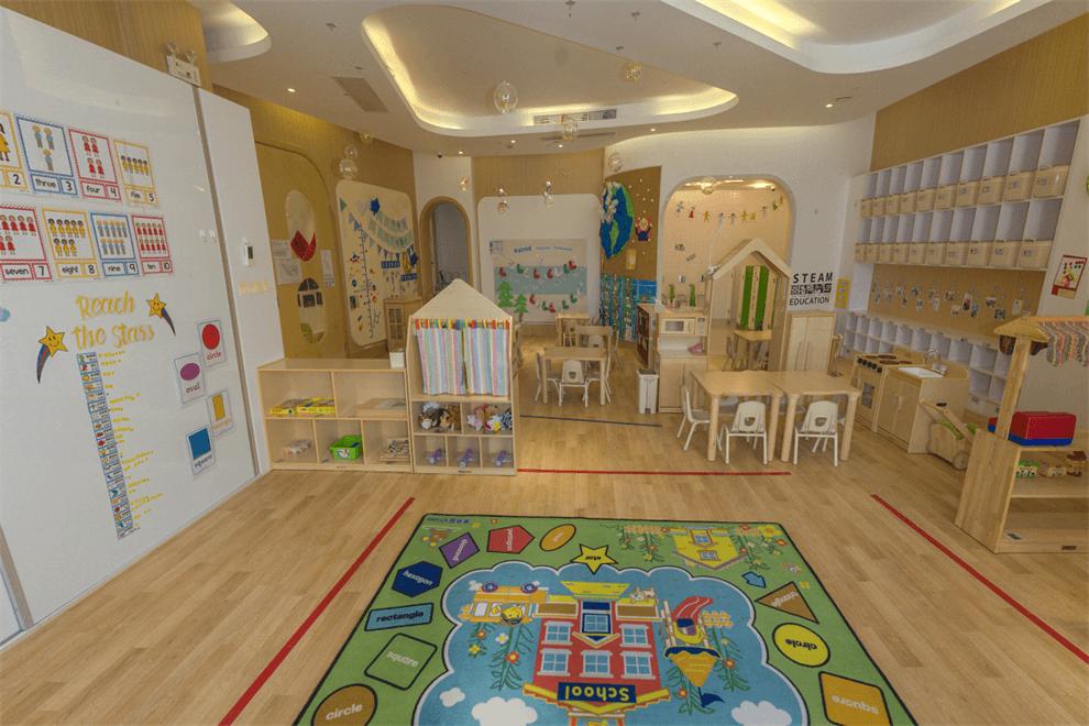 上海艾思坦幼儿园教室图集