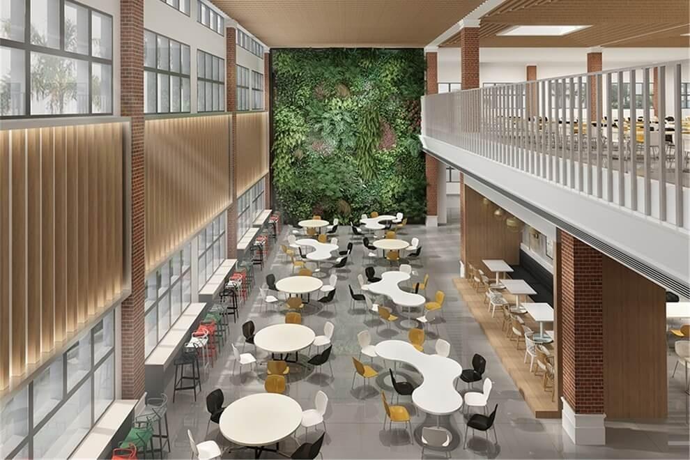 青岛威德明特双语学校餐厅图片