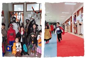 南通思德福国际学校甜乐的万圣节图片