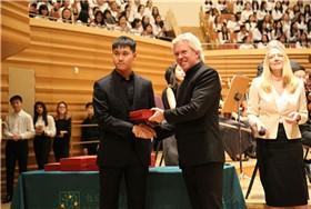 耀华学子参加第十二届国际学校合唱音乐节图片