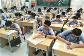 深圳中英公学初三年级举行古诗词默写竞赛图片