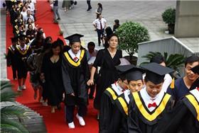 宁波滨海国际合作学校举行2019届毕业典礼图片