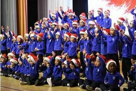 常州威雅公学实验学校幼儿园的欢乐圣诞季图片