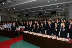 南京外国语国际部毕业典礼宣誓仪式!图片