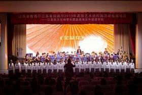 《东方之魂》音乐会走进南京外国语国际部图片