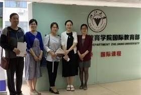 天大A-Level国际教育中心主任到别校考察图片
