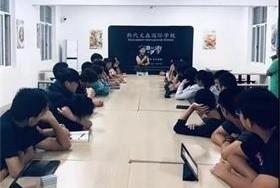 上海斯代文森国际学校学生会换届选举图片