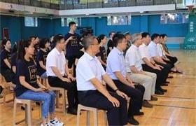 北京金融街润泽学校训练结营图片