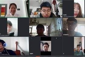 京城学校师生网络直播在线教学图片