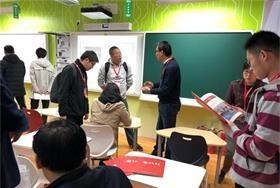 教室走进展会,京城学校亮相国际教育展图片