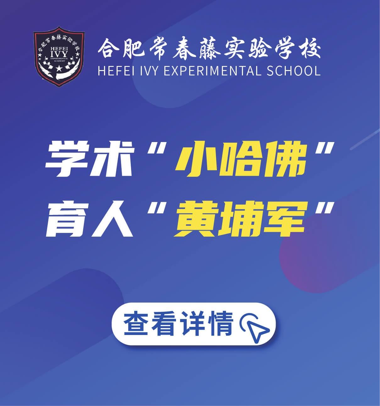 合肥常春藤实验学校图片